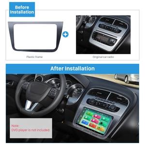 Image 2 - Seicane 2 DIN Car Radio Fascia Dash Trim Kit For 2004+ SEAT Altea Toledo LHD  220*130mm Stereo DVD Player refitting Frame