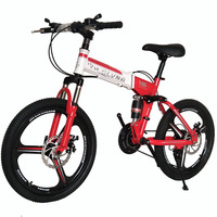 Frame Fold Agile Security Child's Car Parts bicicleta Mountain bike Country Disc Brake Student Activity Vehicle folding bicycle