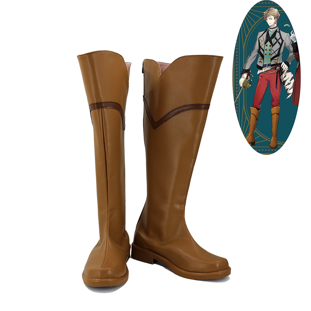 Tsukiuta Procellarum FUDUKI KAI Cosplay Shoes Men Boots