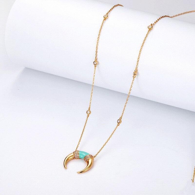 2019 original innovation plaqué rétro luxe marque designer bijoux femmes colliers amour collier cadeau