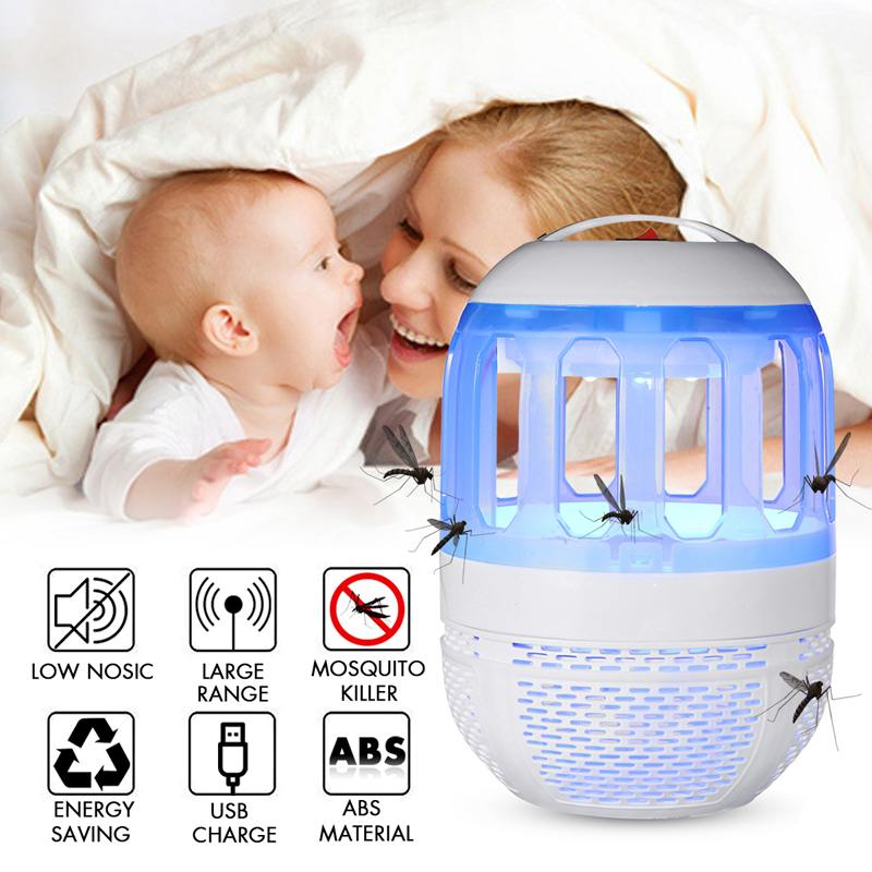 5W Electronic Mosquito Killer Lamp Safe UV Lamp  Insect Killer Lamp Bulb USB  Pest Trap Light for Home5W Electronic Mosquito Killer Lamp Safe UV Lamp  Insect Killer Lamp Bulb USB  Pest Trap Light for Home