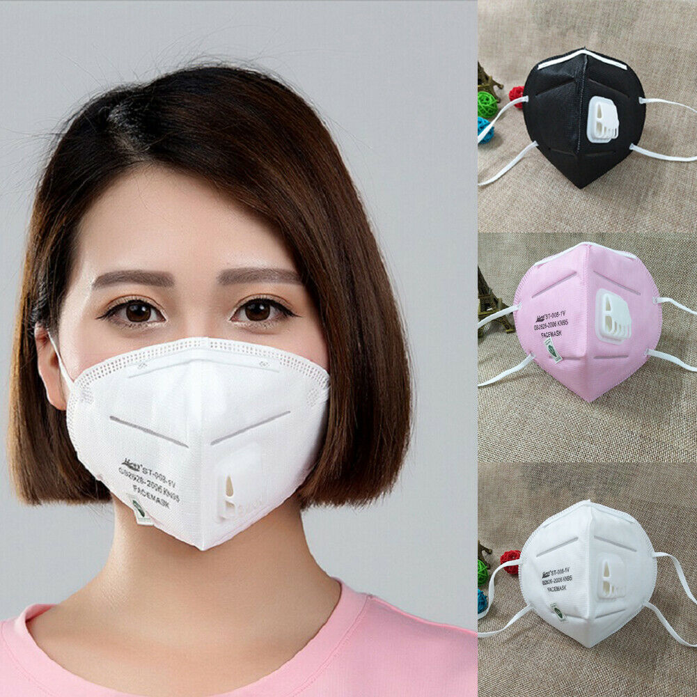 Adult Unisex Black Anti-Dust Cotton Mouth Face Mask Half Masks Cycling Outdoor