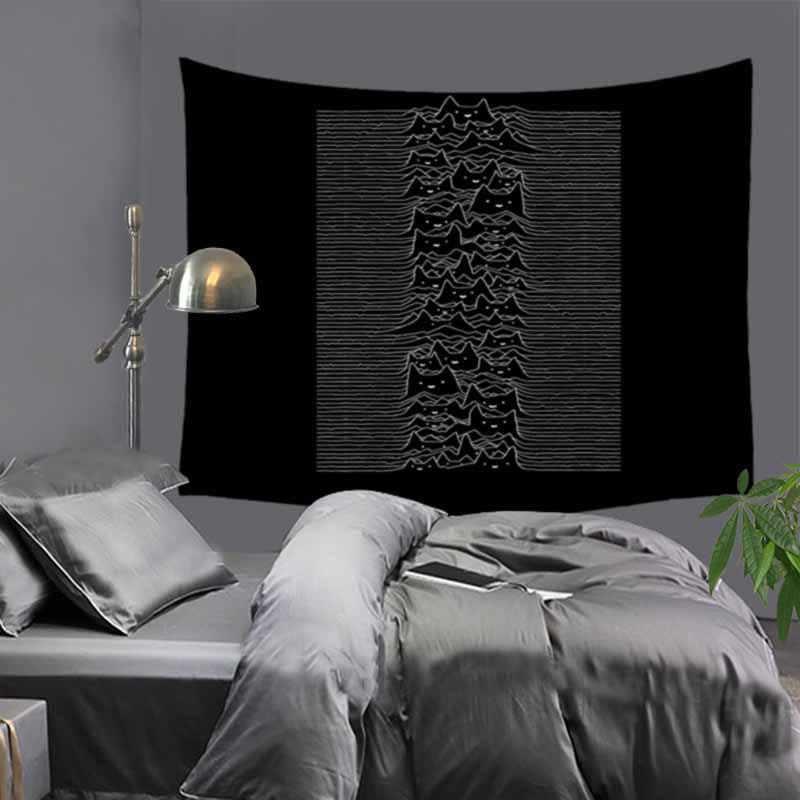 インド曼荼羅タペストリージオメトリ Skll 目ウォールタペストリー自由奔放に生きるベッドカバーヨガマットテーブルクロスじゅうたん 230 × 180 センチメートル