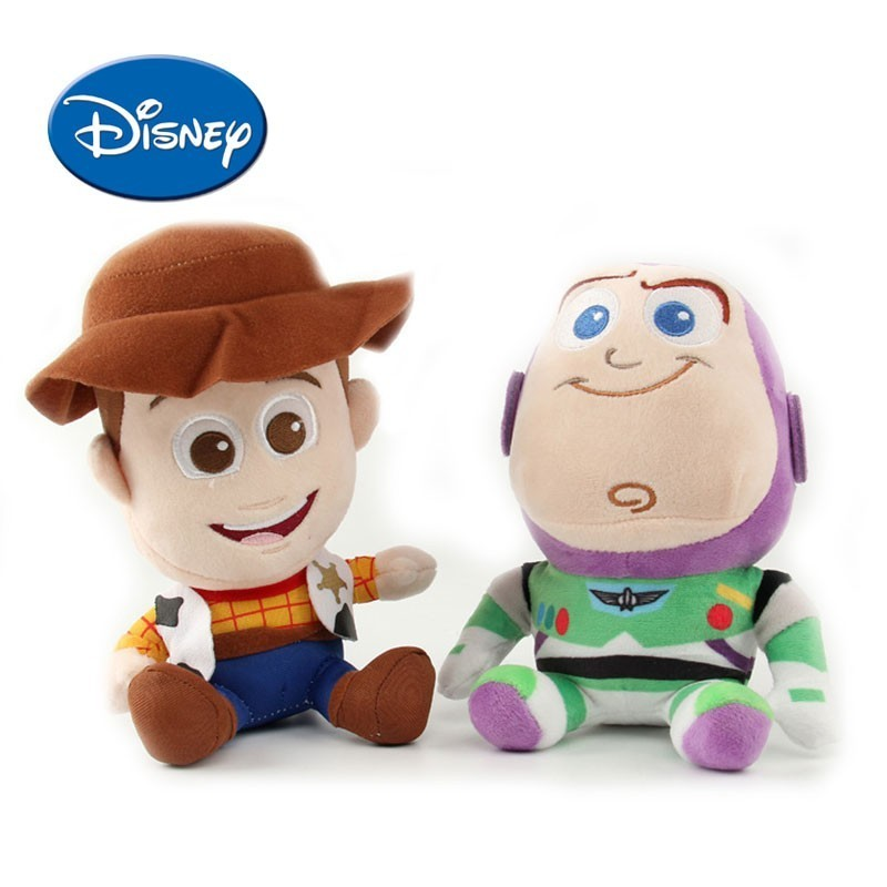 DISNEY Toy Story  Buzz Lightyear Woody  Peluche Stuffed And Plush Toy  For Boys Kids Sleeping Doll stuffed toy
