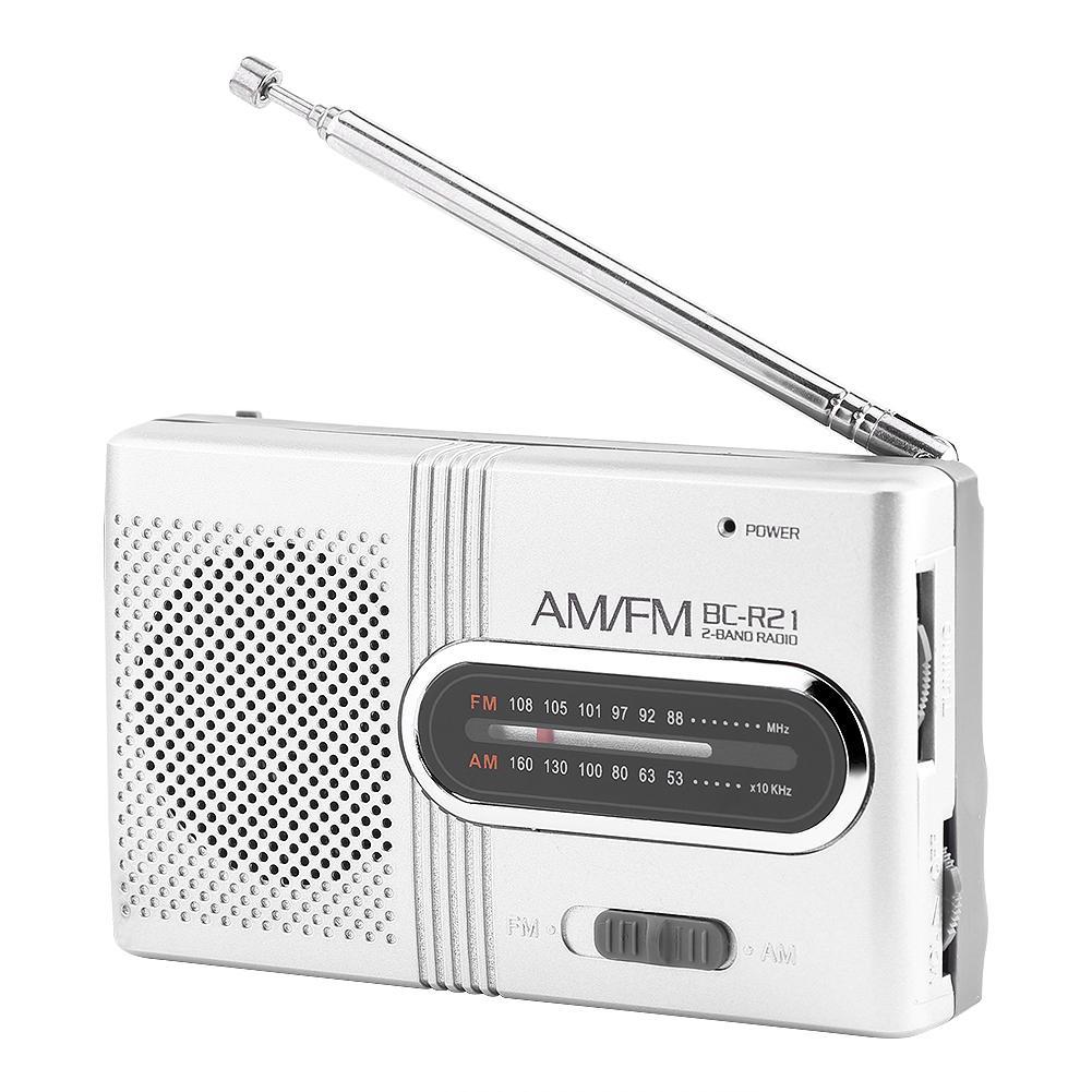Intellektuell High-leistung Am/fm Radio Empfänger Mini Tragbare Teleskop Antenne Radio Receiver Stereo Lautsprecher Bc-r21 Drop Verschiffen KöStlich Im Geschmack Radio