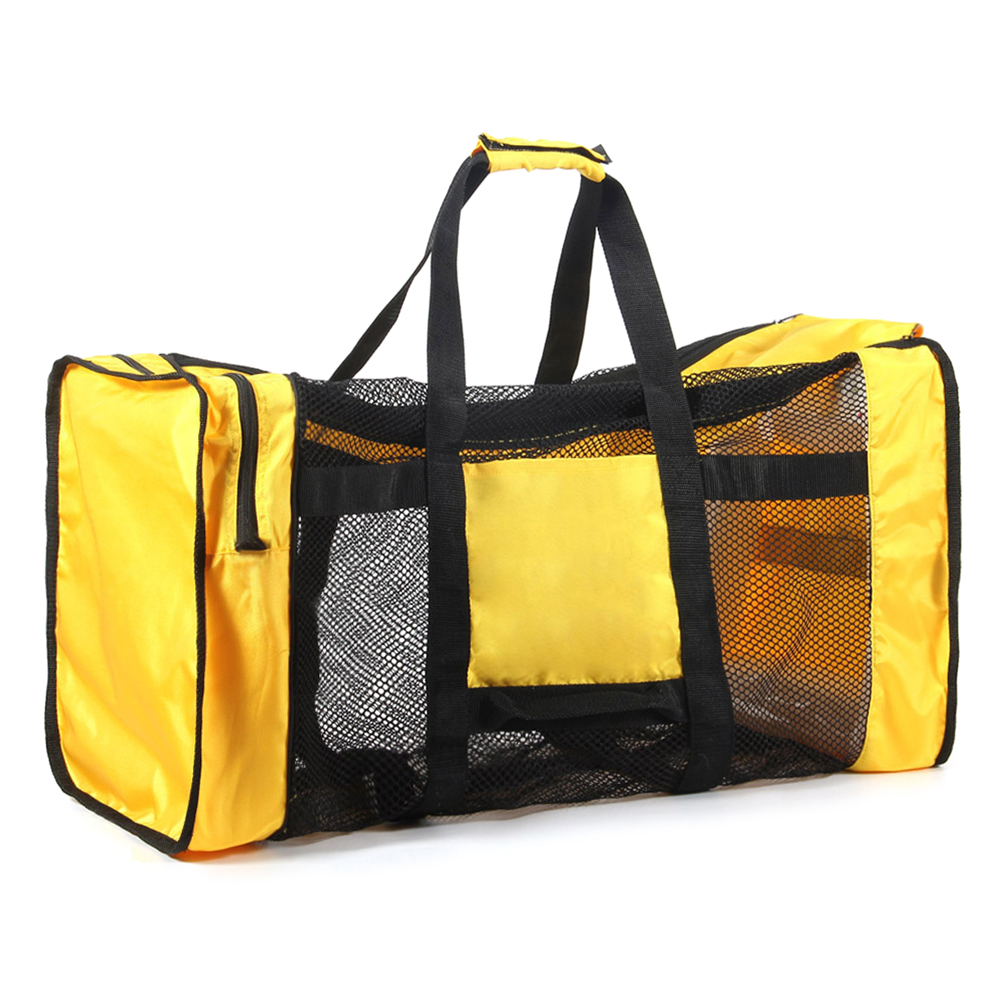 b00e9556af 100L Mesh Duffle Gear Bag for Scuba Diving Snorkeling Swimming Beach and  Sports Equipment 100L Duffle