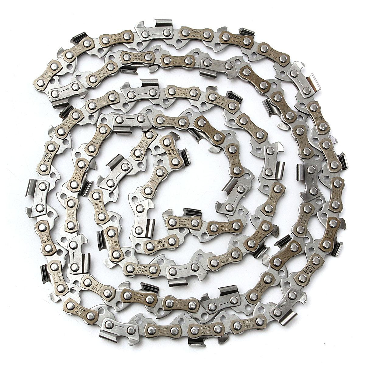 1PC 4 Types 12/16/18/20 Chainsaw Saw Chain Blade 3/8LP Chain Accessory Part1PC 4 Types 12/16/18/20 Chainsaw Saw Chain Blade 3/8LP Chain Accessory Part