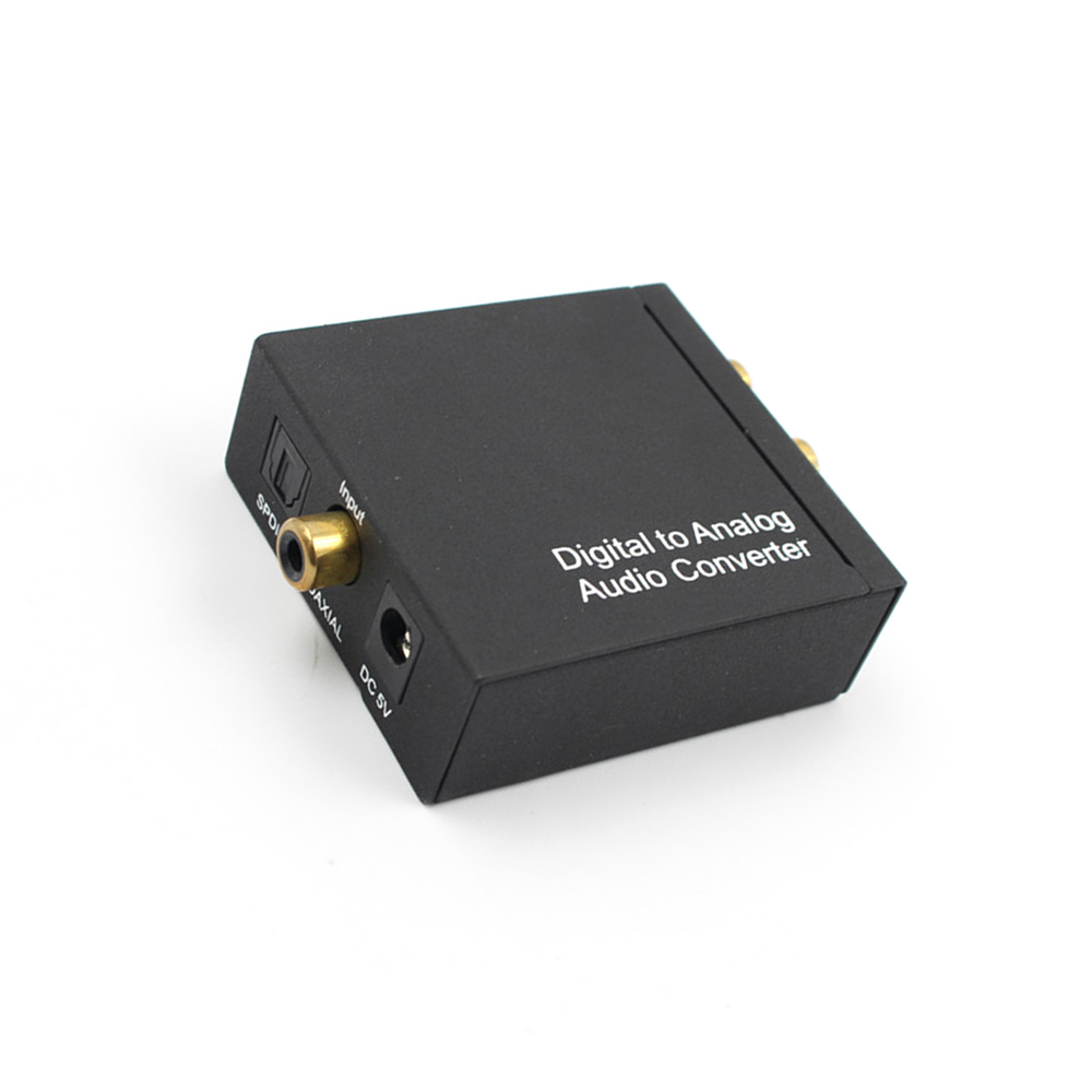 Willensstark Powstro Optische Coax Toslink Digital-analog-konverter Rca L/r Stereo Audio Adapter Jade Weiß Unterhaltungselektronik Funkadapter