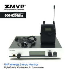 UHF Professional EW300 IEM G3 Monitor Wireless System with Bodypack Transmitter In Ear Stereo for Live Vocals Stage Performance