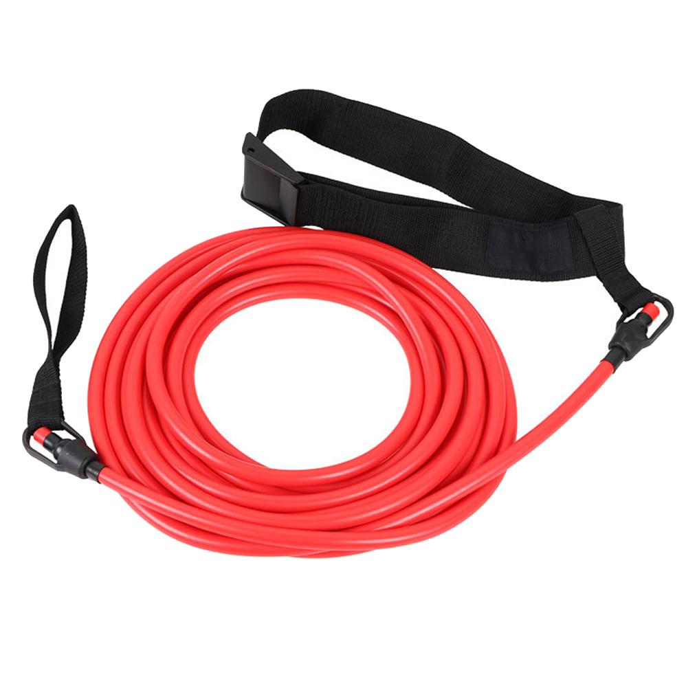 Elastic Traction Belt Professional Swimming Training Speed Trainer Silicone Puller Water Traction Rope For Swimmer