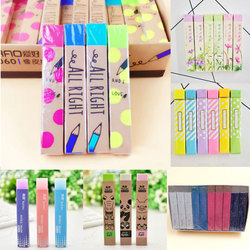 1PC Cute Kawaii Cartoon Flower Rubber Eraser Lovely Colored Eraser For Examination Kids Student Gift School Supplies Stationery