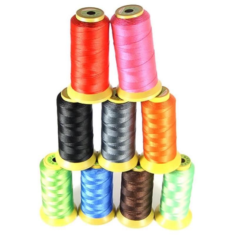 Pamuk kordon 0.2/0.25/0.5/0.7/0.8/1mm konu dize halat makara tel fit boncuk el sanatları DIY bilezik kolye takı bulguları