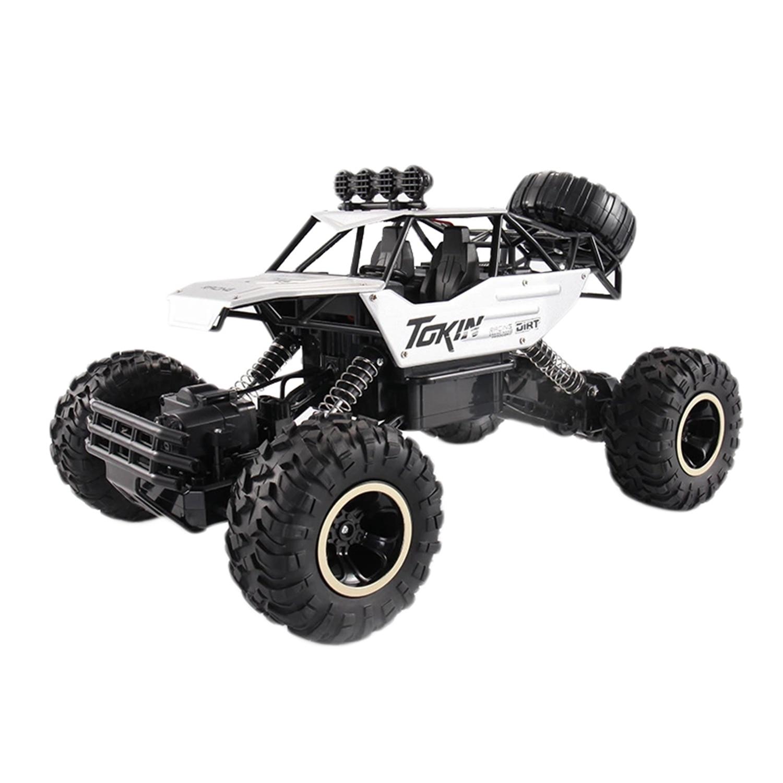 1/12 Rc voiture 4Wd escalade voiture Double moteurs conduire Bigfoot voiture télécommande modèle tout-terrain véhicule jouets pour garçons enfants