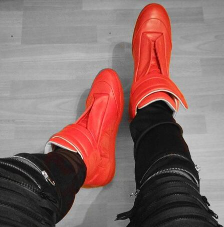 Style Hook As Homens 2019 Men Masculino Sapatos as Ankle Alta Laço Moda Picture Shoes Formadores The Casual Th Flats De Boots Top amp; Street xAHxwt6f