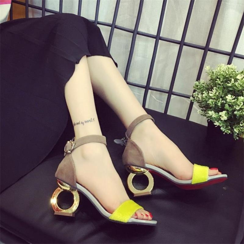 acgicea Summer coarse 2019 Strange Style sexy high heels