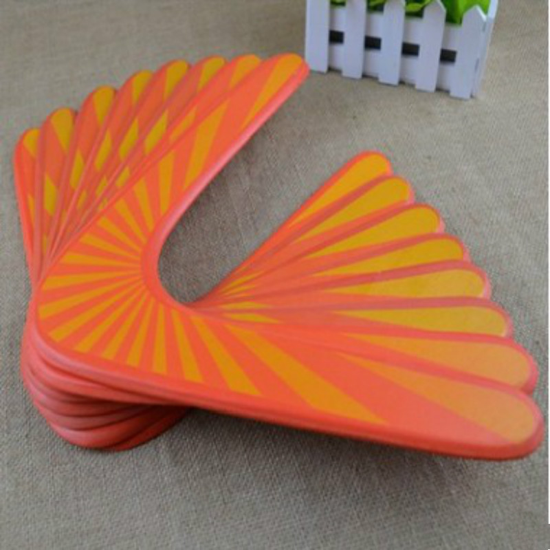 Fournitures de plein air kangourou Throwback V en forme de Boomerang Flying Disc Throw catch jouet de jeu en plein air