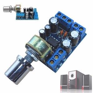 Image 5 - TDA2822 TDA2822M מיני 2.0 ערוץ 2x1W סטריאו אודיו מגבר כוח לוח DC 5V 12V רכב נפח בקרת פוטנציומטר מודול