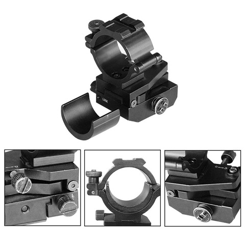 tactical 254mm 30mm anel montagens para 20mm