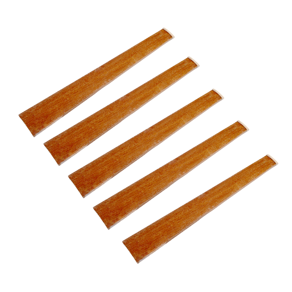 Rapture 5pcs Redwood Violin Fingerboard For 4/4 Acoustic Violin Fiddle Diy Parts To Ensure A Like-New Appearance Indefinably Stringed Instruments Violin Parts & Accessories