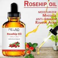 118ml Organic Pure 100% Rosehip Essential Oil Pure Rose Essential Oil Skin Care Body or Face Massage Oil