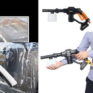 Image 3 - Pistolas limpiadoras portátiles de 12V para coche, limpiador de presión inalámbrico, máquina de lavado recargable para el cuidado del coche, dispositivo de limpieza eléctrica para el hogar y el jardín