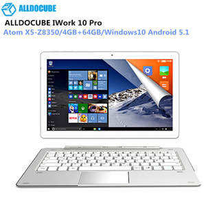 ALLDOCUBE IWork 10 Pro 2 Inch 1 Tablet PC Intel Atom X5-Z8350 Windows10 Android 5.1