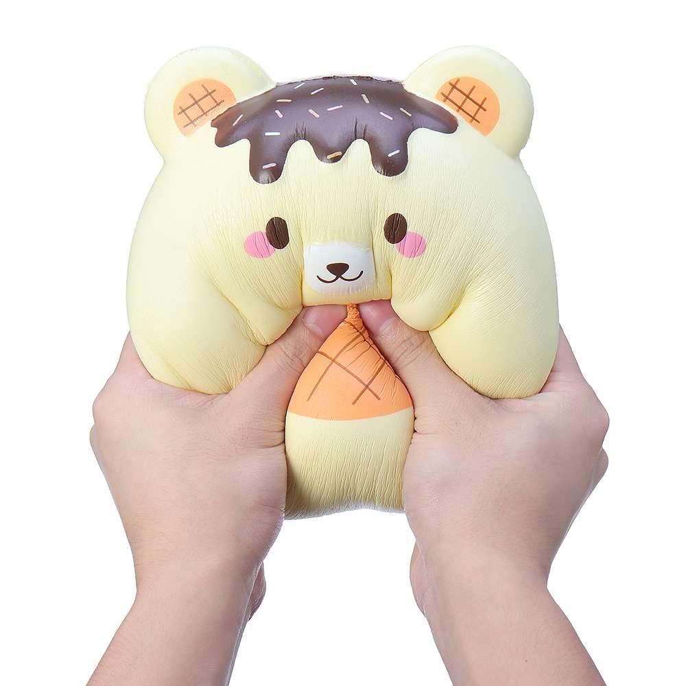 Jumbo 25 CM Mignon Panda Ours Oeuf Squishyed Lente Hausse Squeeze Jouets Enfants Doux Extensible Parfumé jouet anti-stress Décor Cadeaux