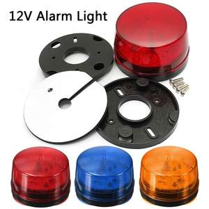 Security-Alarm Led-Light Strobe Flashing Signal-Safety-Warning Orange Blue Waterproof