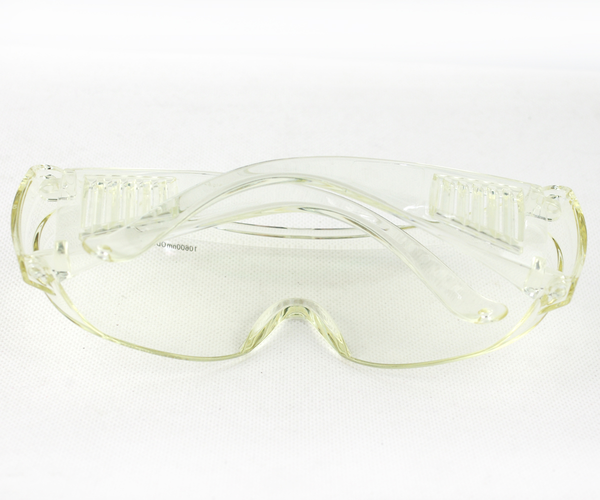 EP-CO2 Protection Laser Goggles Safety Glasses eyewear for 10600nm CO2 OD5 double frame protection goggles glasses eyewear for co2 carbon dioxide laser 10600nm 10 6um