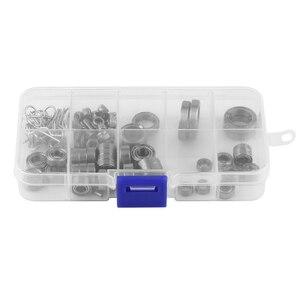 Image 2 - Набор металлических подшипников для радиоуправляемых автомобилей, набор винтов, ящик для инструментов для ремонта Traxxas TRX4 1/10 Crawler с более длительным сроком службы, детали для радиоуправляемых моделей