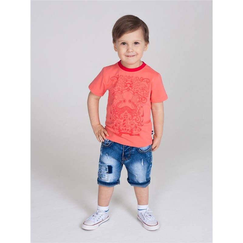 T-Shirts Sweet Berry T-shirt knitted for boys children clothing kid clothes t shirts frutto rosso for girls and boys sm117k021 top kids t shirt baby clothing tops children clothes
