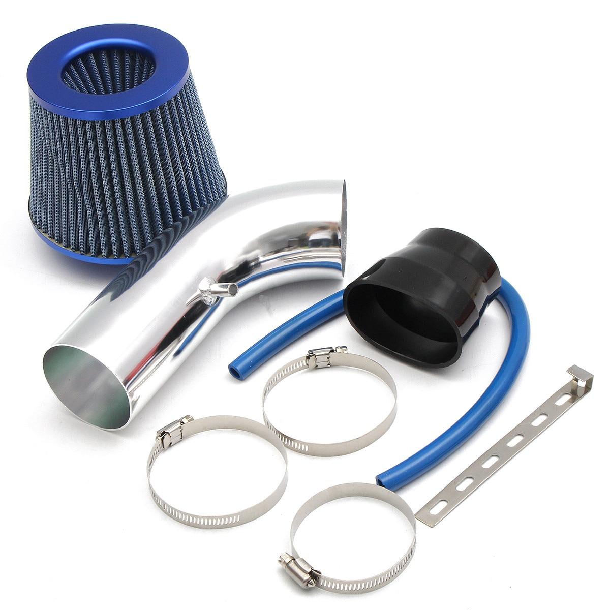 Car Engine Intake Pipe Air Filter Head Productivity Air Filter 76mm Inlet Air Filter 160mm High Flow Cold Air Cone