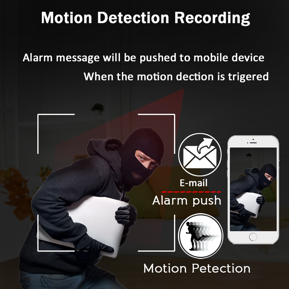 Image 5 - OUERTECH  4X Zoom PTZ Outdoor IP security Camera WiFi 1080P Motion Detect Night vision Security Camera TF Card Slot CCTV Camera-in Surveillance Cameras from Security & Protection