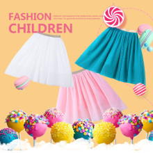 New Fashion Girls Birthday Outfit Children Skirts Tutu Kids Baby Fluffy Pettiskirts Puffy Tulle Skirt For Girl