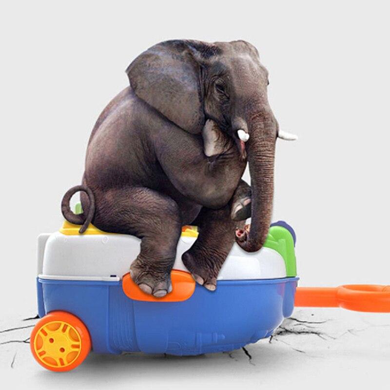 Valise pour enfants sac à dos léger valise transportant la roue de bagage - 3