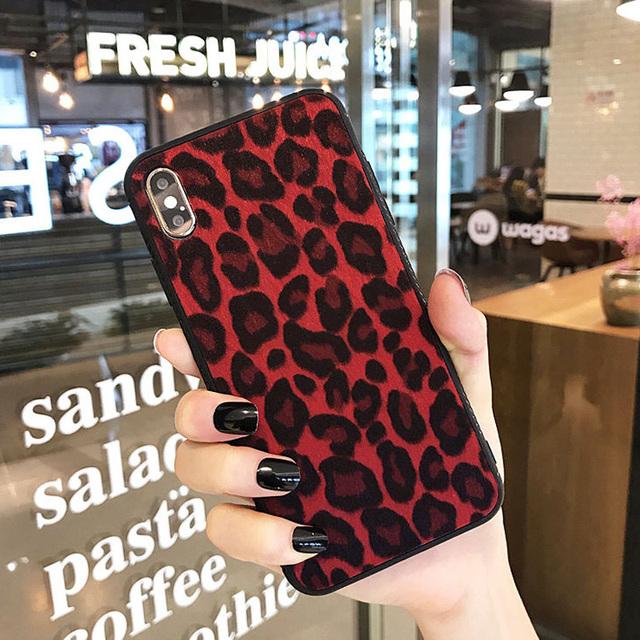 Leopard Patterned Phone Case