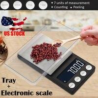 0.01g Eletrônica Digital Kitchen Food Diet Scale Postal Equilíbrio de Peso|Balanças de cozinha| |  -