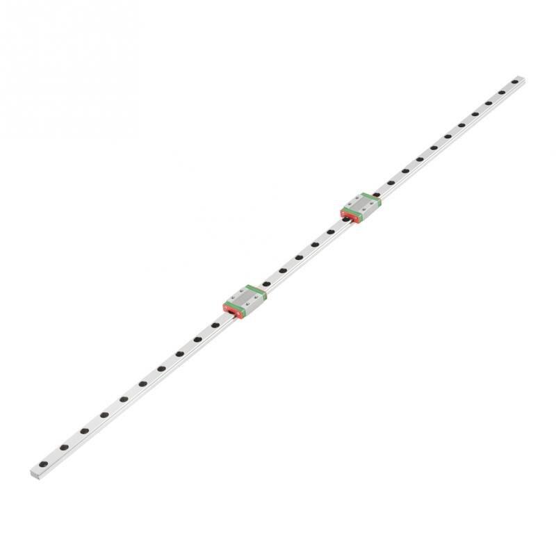 LML9B 600mm Linear Guide Rail guia linear Linear Slide Carriage CNC Router with 2pcs Sliding Block Ball Screw Ballscrew New new original rexroth runner block ball carriage r162221322 slider 100% test good quality