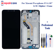 6.18 For Xiaomi Poco F1 LCD Display Touch Screen Digitizer Assembly Replacement Mi Pocophone