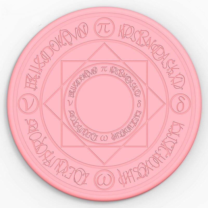 FGHGF Новое волшебное зарядное устройство 10 Вт волшебное кольцо Qi Беспроводное универсальное быстрое зарядное устройство Беспроводная заряд...