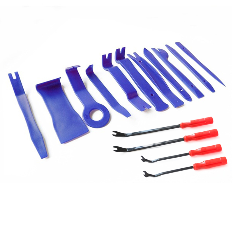 13pcs set Car DVD Audio Disassembly Tools Car Disassembly Interior Kit Auto Trim Removal Tool Car