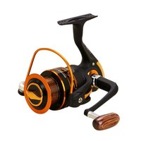 Spinning Carbon Fiber Drag Ultra Light Freshwater Fishing Reel AX500 7000 Series 12+1BB Spin Plastic with Metal Rocker Arm
