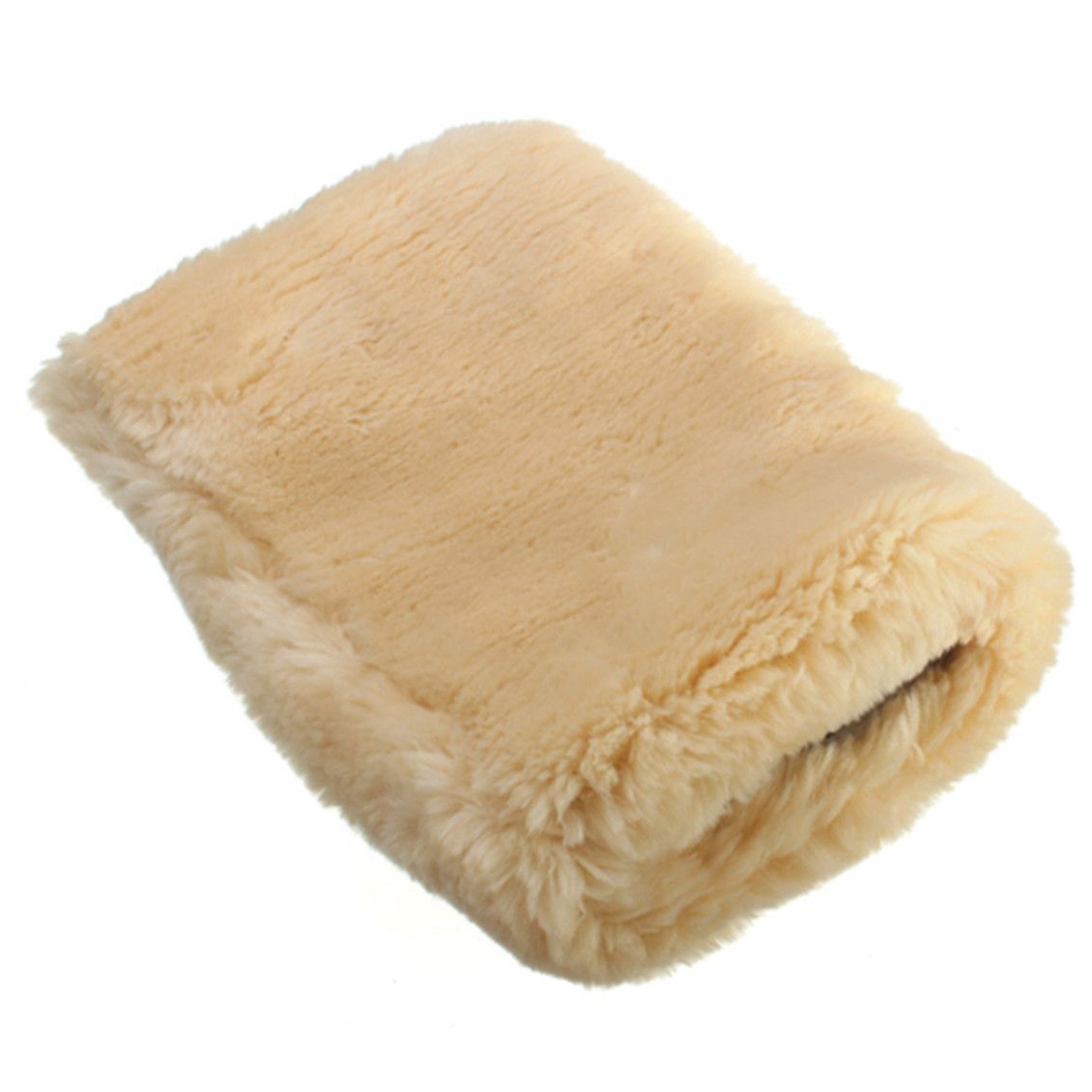 Home and Crafts Sheepskin Wash Mitt+Buff Dust Pad for Pets Clean Naturally!