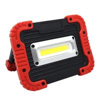 Portable Camping Light 10W COB LED Work Lamp USB Rechargeable IP65 Waterproof Outdoor Floodlight
