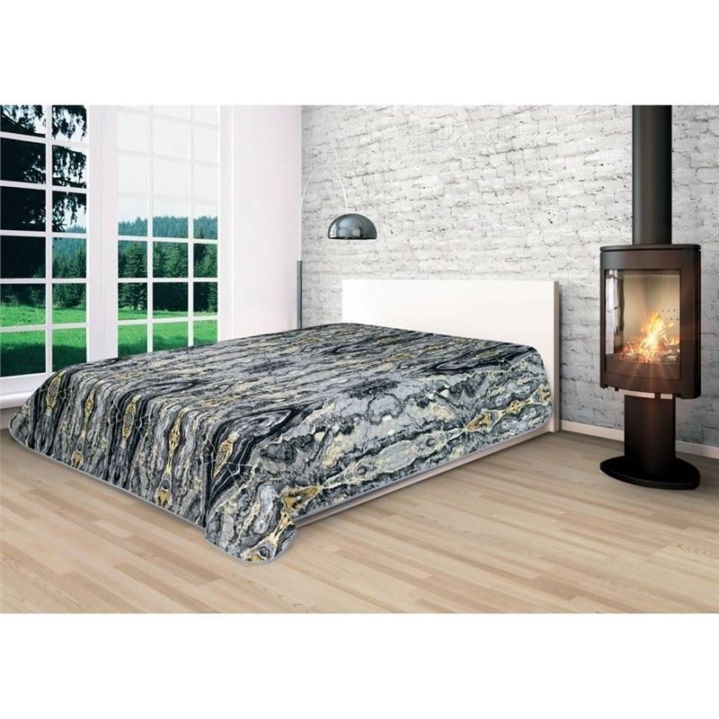 Bedspread Ethel Minerals Jasper, size 150*220 cm, microfiber 100% N/E