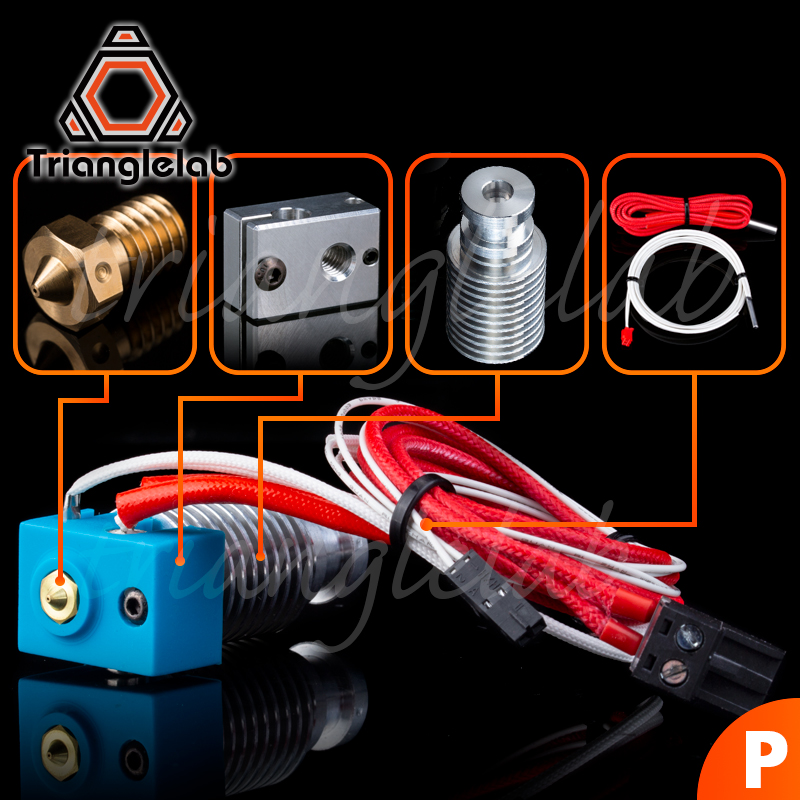 TriangleLAB V6 Hotend Pre-assambled Unit For PRUSA I3 MK3 MK2/2.5