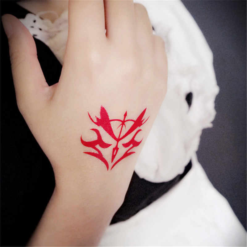 Fatezero Fate Stay Night Cosplay Animatie Cartoon Logo Tatoo Tattoo Style1 Sticker XR079