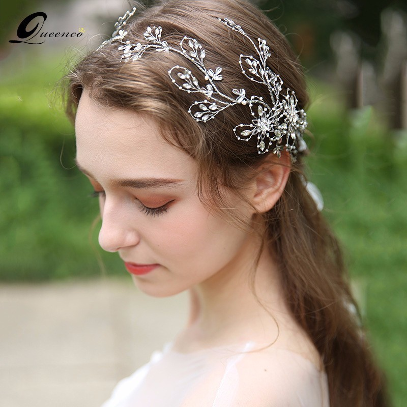 Luxury Crystal Bridal Hair Accessories Wedding Headwear Tiara Bride Crown Headband Hair Jewelry Women Crowns
