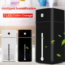 Air Humidifiers Atomizer Ultrasonic Aromatherapy Diffusers Large Capacity Quiet LED Light Night USB Humidifier for Home Office