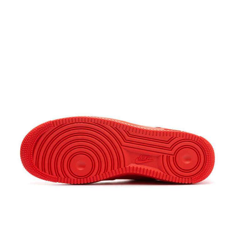 ナイキエアフォース 1 AF1 男性スケートボードの靴高輝度赤脱構築簡易版レジャー時間スニーカー # AJ7747-800
